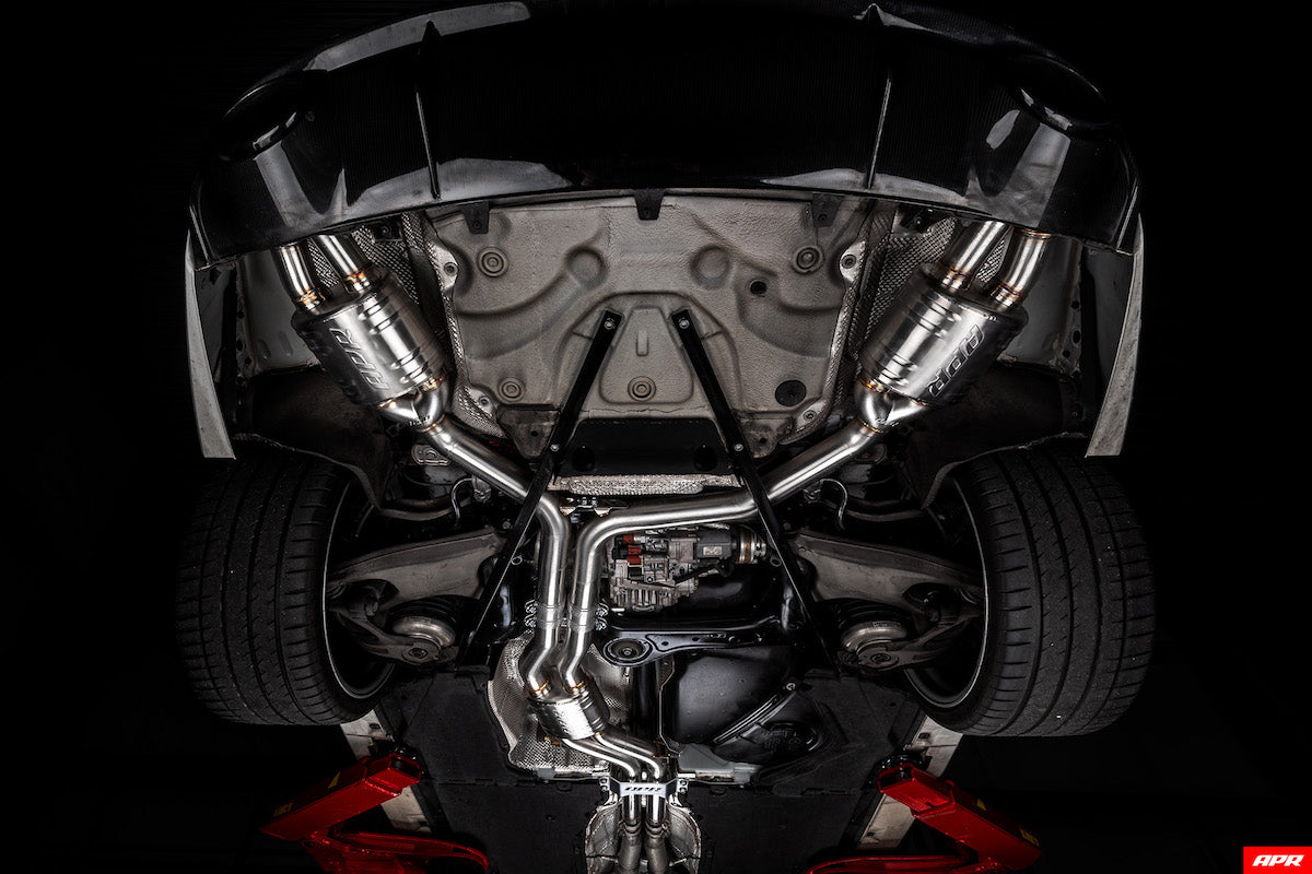 apr tuning RS7 C7 C7.5 4.0TFSI Catback Exhaust System CBK0015 apr tuning dealer