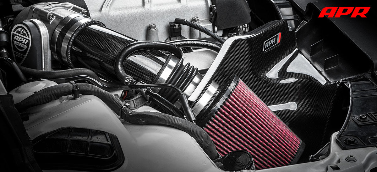 apr tuning APR Tuning Open Carbon Fiber Intake System CI100037 apr tuning dealer