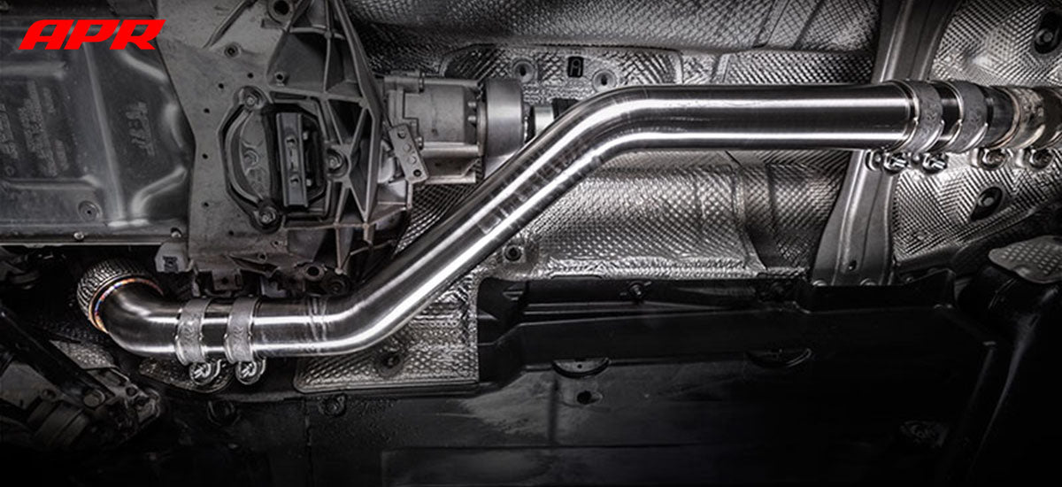 apr tuning B8 B8.5 Downpipe Exhaust System DPK0019 apr tuning dealer