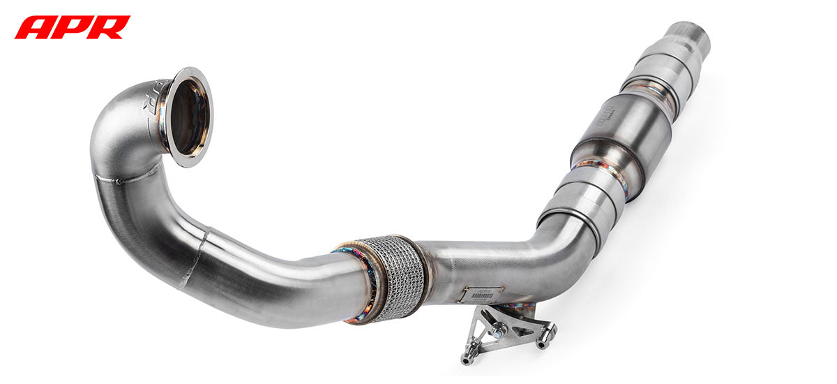 apr tuning APR Tuning MQB FWD Downpipe Exhaust System dpk0027 apr tuning dealer