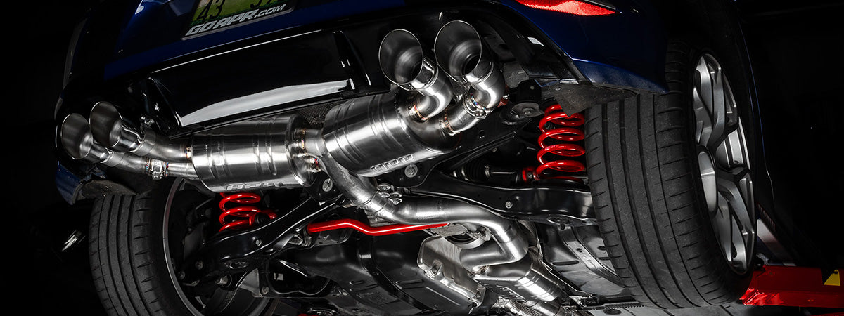 APR Tuning VW Golf R MK7 Catback Exhaust System DPK0021