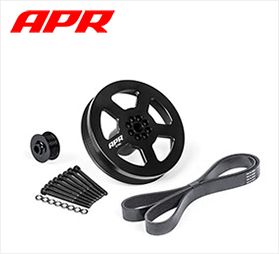 apr tuning supercharger pulleys audi s4 s5 q5 sq5 b8
