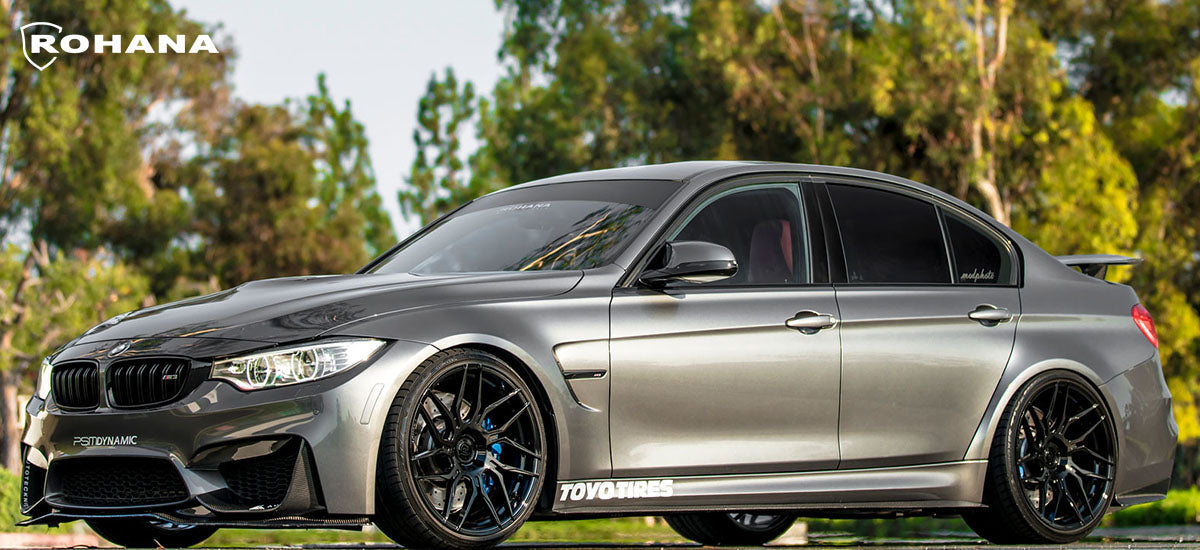 Rohana RFX7 wheels Rohana wheels Rohana customs wheels Rohana concave wheels audi custom wheels bmw custom wheels vw custom wheels