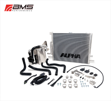ams performance supercharger coolers