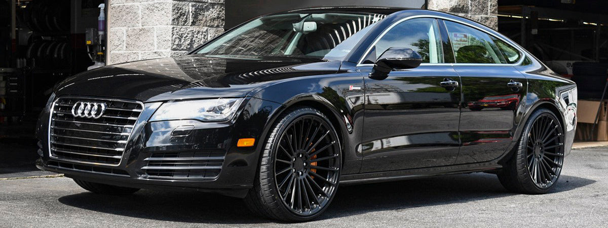 TSW wheels dealer TSW rf series wheels TSW Turbina wheels Audi A7