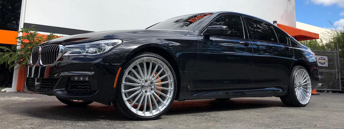 TSW wheels dealer TSW rf series wheels TSW Turbina wheels BMW 750