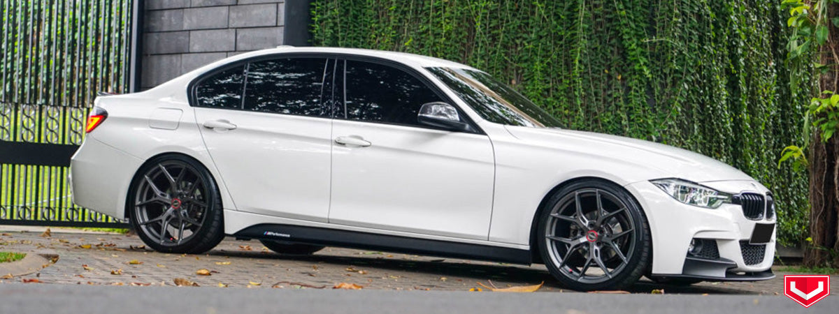 vossen wheels dealer vossen hybrid forged wheels vossen HF5 wheels BMW 335