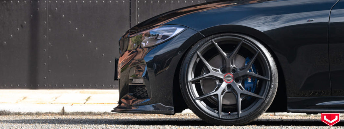 vossen wheels dealer vossen hybrid forged wheels vossen HF5 wheels BMW 340
