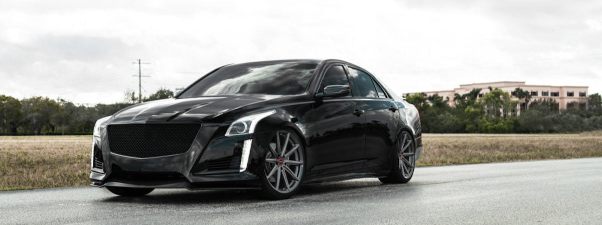 vossen wheels dealer vossen hybrid forged wheels vossen VFS10 wheels cadillac ctsv