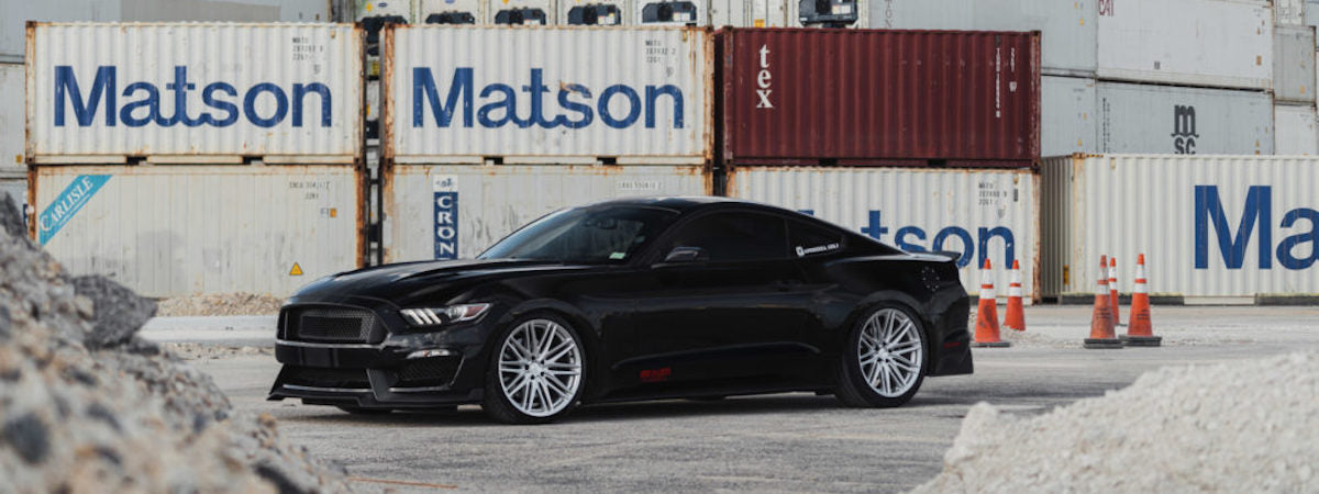 vossen wheels dealer vossen hybrid forged wheels vossen VFS4 wheels ford mustang