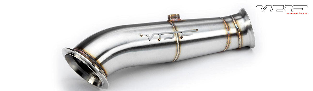 vrsf exhaust systems audi downpipe exhausts bmw downpipe exhausts
