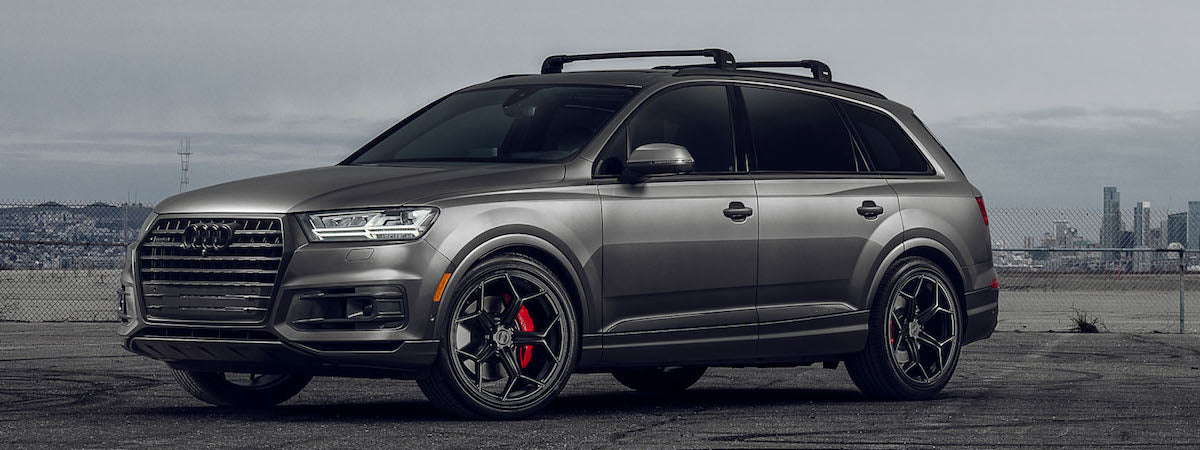 XO wheels dealer XO rotary forged wheels XO Helsinki wheels Audi Q7