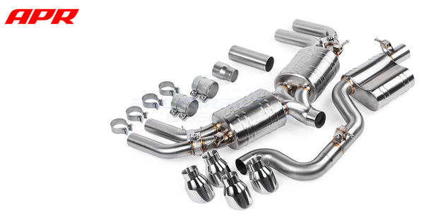 APR Tuning S3 MK3 Catback Exhaust System