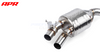 APR Tuning RS7 C7 C7.5 4.0TFSI Catback Exhaust System w/ Center Muffler