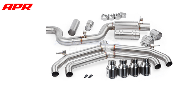 APR Tuning Golf R MK7 Catback Exhaust System w/o Valves & Mufflers