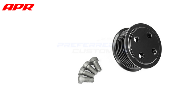 APR Tuning Supercharger Drive Pulley - Bolt-On (Gen2)