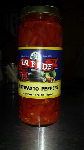 La Fede Antipasto Peppers