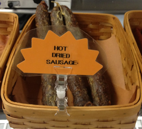 Hot Dried Sausage