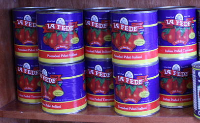Imported La fede Crushed Tomatoes