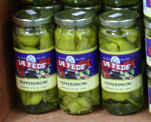 Imported La fede Pepperoncini