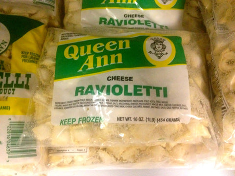 Queen Ann Cheese Ravioletti