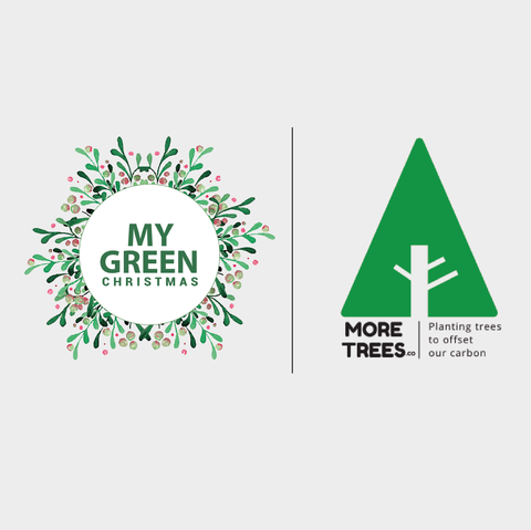 My Green Christmas - MoreTrees partnership