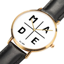 Load image into Gallery viewer, Full Face Gold 'Divine' MADE Watch