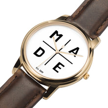 Load image into Gallery viewer, Full Face Rose Gold 'Luxe' MADE Watch