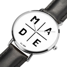 Load image into Gallery viewer, Full Face Silver 'Divine' MADE Watch