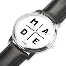 Load image into Gallery viewer, Full Face Silver 'Luxe' MADE Watch