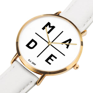 Full Face Gold 'Divine' MADE Watch