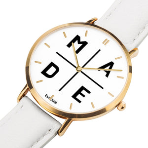 All Gold 'Affluence' MADE Watch