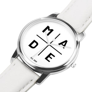 Full Face Silver 'Luxe' MADE Watch