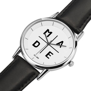 Double Layer Silver 'Celestial' MADE Watch