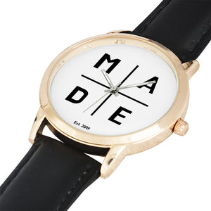Full Face Gold 'Lavish' MADE Watch