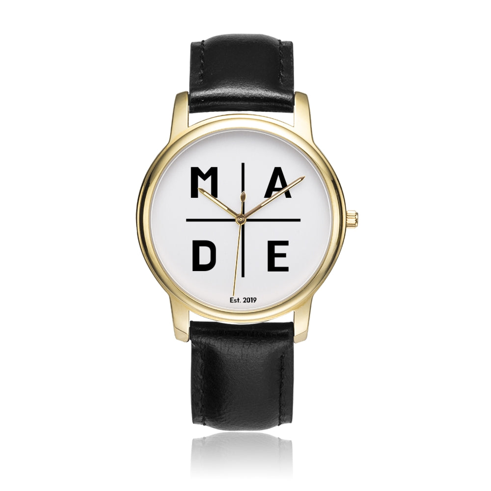 Full Face Gold 'Luxe' MADE Watch