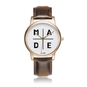 Full Face Rose Gold 'Luxe' MADE Watch
