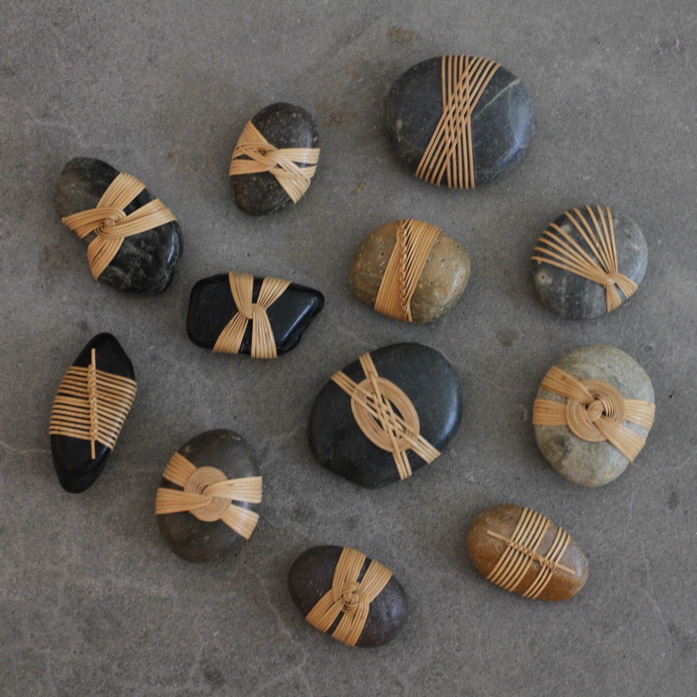 Wrapped Rocks | Shizu & Karen Okino