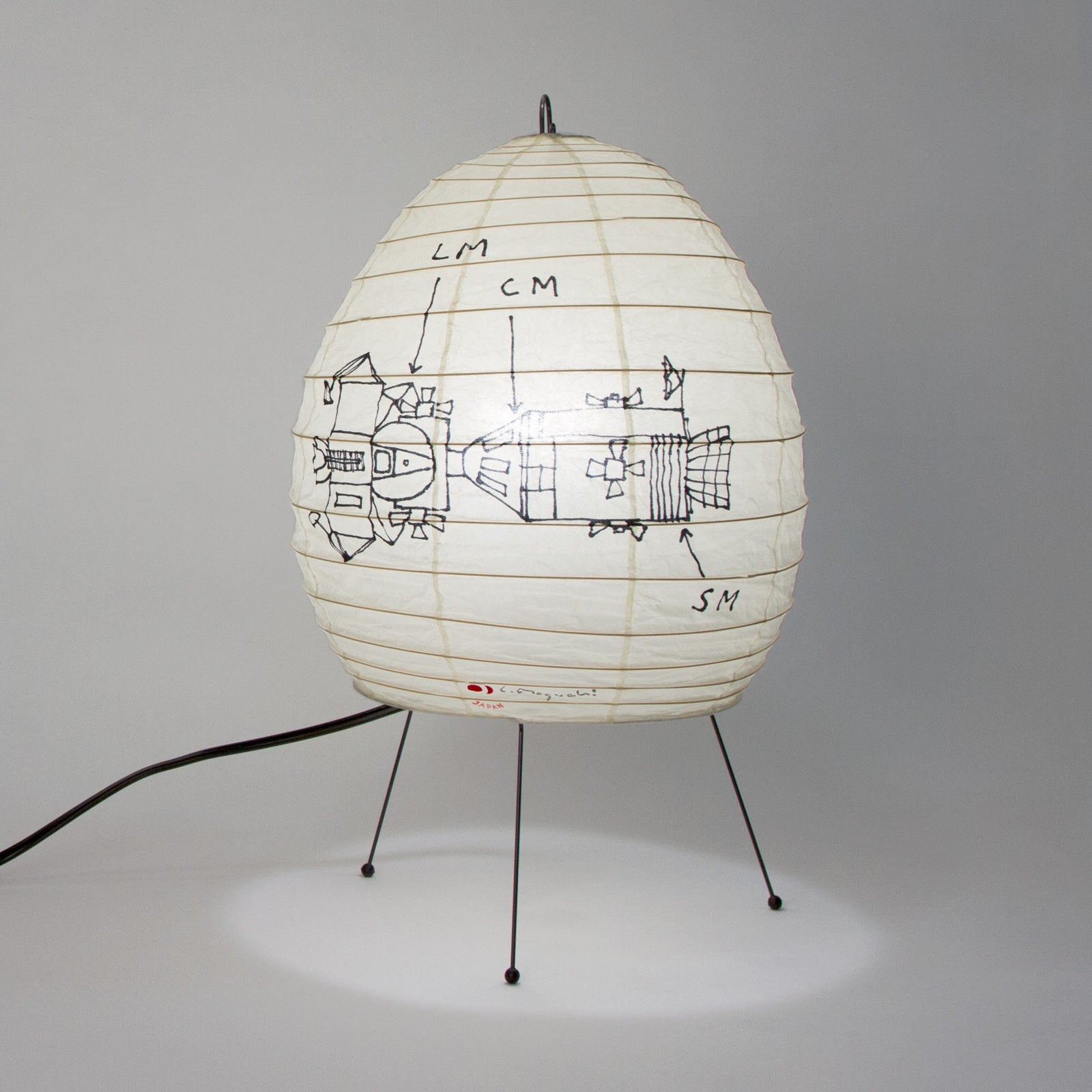 Tom Sachs, Command Service Module Lamp, 2016