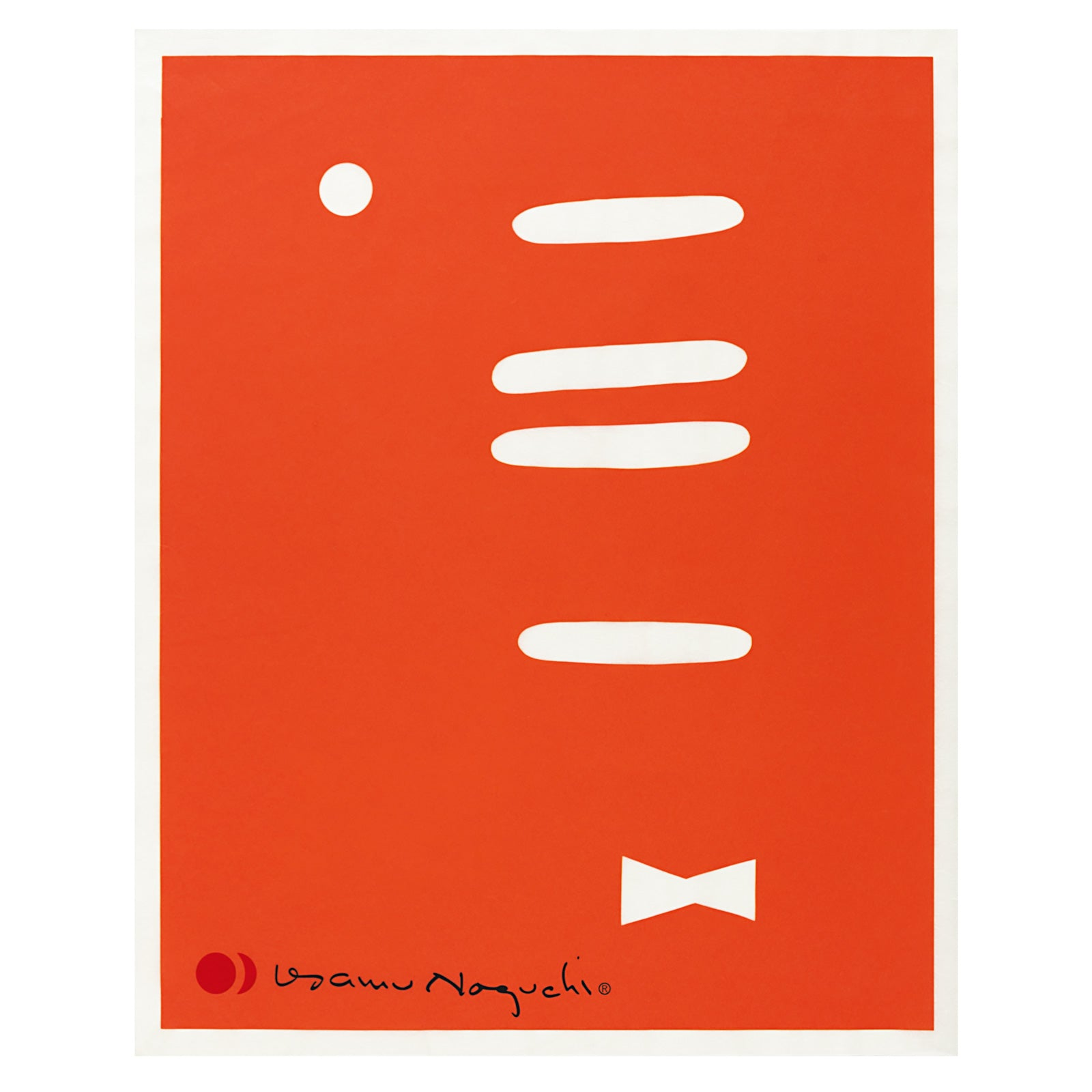 Akari 1AT Print – Orange Bowtie