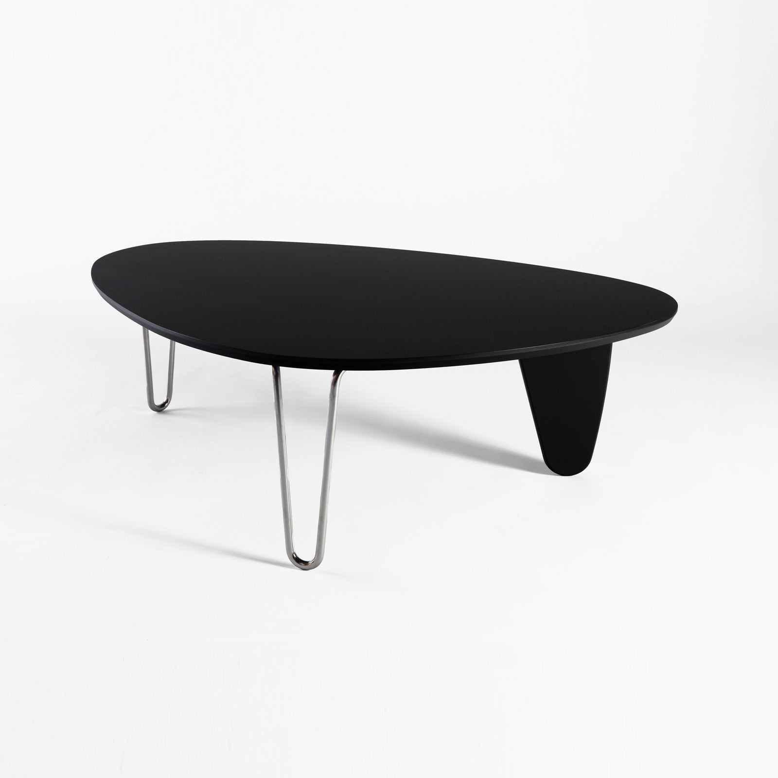 Noguchi Rudder Table, Black Ebony Maple