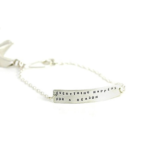 FORTUNE COOKIE BRACELET SILVER
