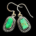 925 Silver and rough stone Amazonite Earrings