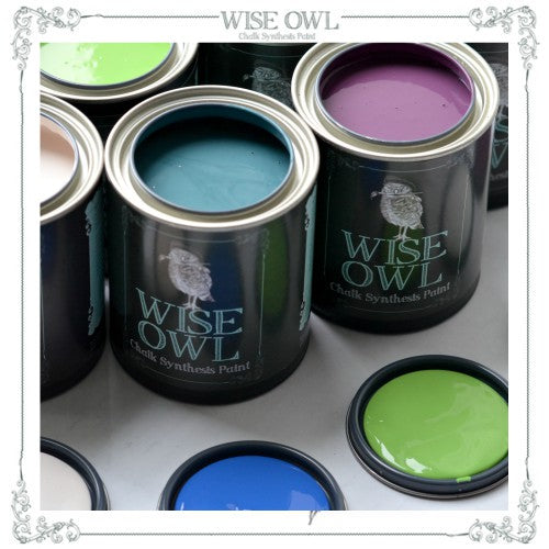 Wise Owl Chalk Synthesis Paint - Quart (32oz)