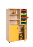 Storage furniture: Cupboard + 1 trays bay