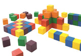 Colourful wooden blocks
