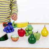 Wooden Fruit set in Net Pk. 13