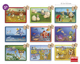 Animal Puzzle Set of 9