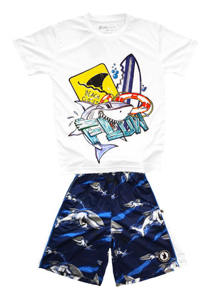 Boys Great White Shark Flow Outfit