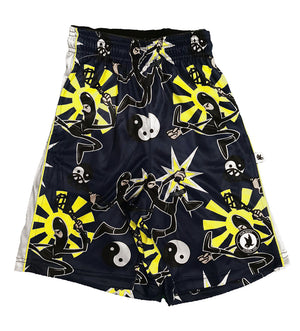 Boys Flowing Ninja Attack Short